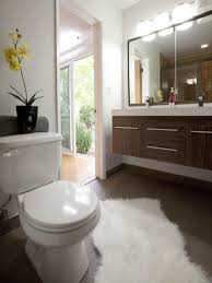 How To Make Small Bathroom Look Bigger 20 Small Bathroom Before And Afters Hgtv