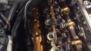 bmw x5 3 0 valve cover gasket leak youtube