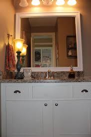 bathroom cabinets frames for existing bathroom mirrors craftsman
