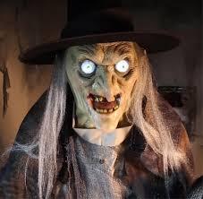 animatronic halloween props speaking life size animated rising phantom reaper horror prop