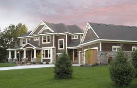 Craftsman Home by Exclusive 4 Bedroom Luxury Home Plan 14462rk Architectural