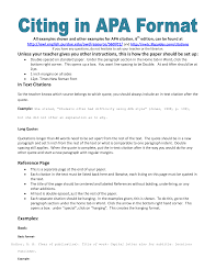 APA Title Page   Writing a Research Paper APA style for methods course papers and portfolio entries