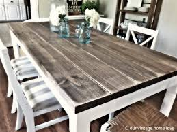 Chairs For Kitchen Table by Farmhouse Kitchen Tables And Chairs Distressed Farmhouse Table Jpg