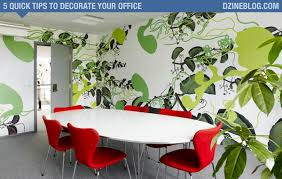 Tips To Decorate Home 5 Quick Tips To Decorate Your Office Dzineblog Com