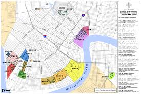Map New Orleans French Quarter by Dpw Residential Parking Permit City Of New Orleans