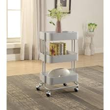 Kitchen Cart With Storage by 100 Rolling Kitchen Island Cart Stainless Steel Top Kitchen