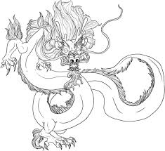 printable chinese dragon coloring pages itgod