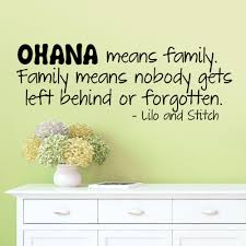 ohana means family wall sticker quotes vinyl wall decal art mural ohana means family wall sticker quotes vinyl wall decal art mural home decor wall transfers stickers wall vinyl from lin860 16 07 dhgate com