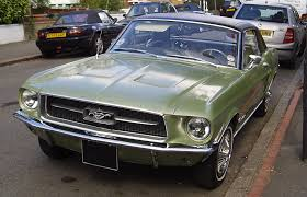 1967 Ford Mustang Black Ford Mustang Black And White Car Autos Gallery