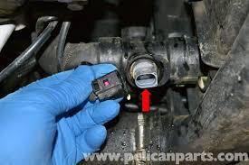 audi a4 b6 coolant temperature sensor replacement 2002 2008
