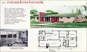 Mid Century Modern House Plan 10 Vintage House Plans 1960s Homes Mid Century Homes Plans One