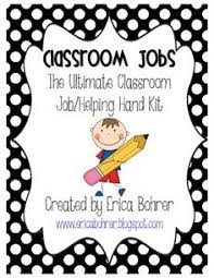 Kids love to feel important and help their teacher  I keep a smooth running classroom Pinterest