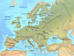 Map Of Western Europe by Western Europe Physical Map Best Of Of Features Map Of Europe