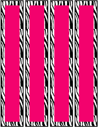 free pink zebra birthday party food cards printables u0026 cupcake