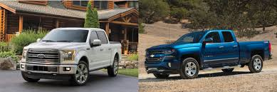 lexus v8 vs chevy v8 head to head 2016 ford f 150 vs 2016 chevrolet silverado 1500