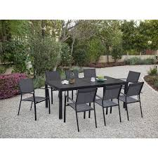 naples 9 piece dining set naplesdn9pc gry