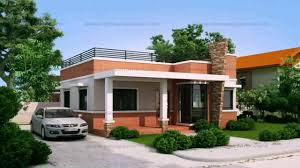 small bungalow house design with floor plan youtube