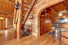 Rustic Home Interior Ideas Pretty Modern Log Cabin Interior Design And Kitchen The Secret Of