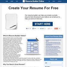 Resume Builders Online by Resume Builder Online Alternatives And Similar Software