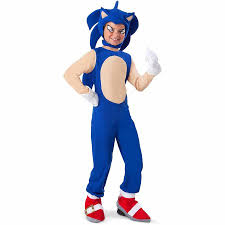 Baby Halloween Costumes Walmart Sonic Hedgehog Sonic Child Halloween Costume Walmart