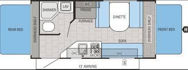 Jayco Camper Trailer Floor Plans Denver Rv Rent Hybrid