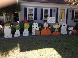 it u0027s the great pumpkin yard art holiday decorations pinterest