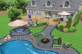 backyard landscaping ideas for small pool areas plan excerpt
