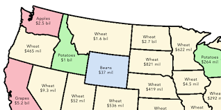State Map United States by 2 Simple Maps That Reveal How American Agriculture Actually Works