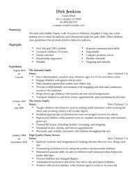 Sample Personal Trainer Resume by Staggering Nanny Resume Examples 15 Cv Example For Personal