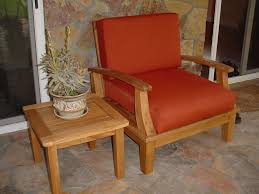 Deep Seat Patio Chair Cushions Furniture Iron Sectional Sofa With Grey Cushion Seat By Sunbrella