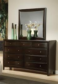 Bedroom Furniture Espresso Finish Espresso Platform Bedroom Set Pheonix Collection