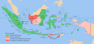 Religions Of The World Map by Indonesian Provinces By The Religion Of Its Governors Oc 2 000px