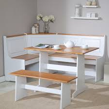 Chairs For Kitchen Table by Nelson Corner Breakfast Nook Set With Bench Driftwood Hayneedle