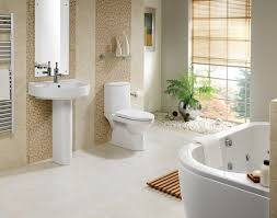 small bathroom decoration using brown travertine tile bathroom