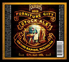 Founders brews limited-release 'Furniture City Stock Ale' for