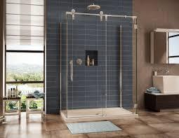 Interior Frameless Glass Door by Frameless Sliding Glass Shower Doors Size U2014 Home Ideas Collection