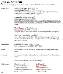 Journalism Advice  How to Write a Journalism Resume Journalism Advice