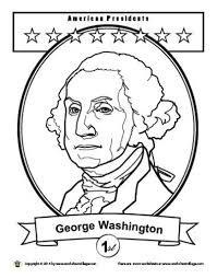 free printable george washington coloring pages george washington