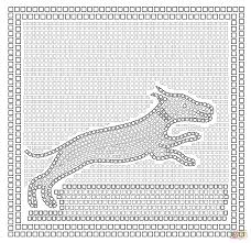 mosaic coloring pages mosaic tile coloring pages kids coloring
