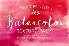 Texture Design The Watercolor Texture Pack Textures Creative Market