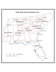 Blank Us Map Pdf by U S Regional