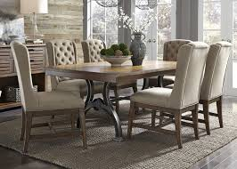 liberty furniture arlington 7 piece trestle table and chair set