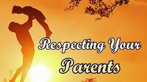 Unique Essay on Respecting Your Parents for Kids and Students     EssaySpeechWala Respecting Your Parents