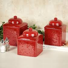 Pottery Canisters Kitchen 100 Walmart Kitchen Canisters Anchor Hocking Glass Heritage