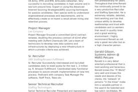 Recruiting Resume Examples by Navy Recruiter Job Resume Reentrycorps