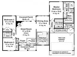 free 1600 sq ft house plans single story home deco plans