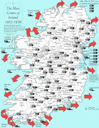 Map Of Ireland And England Ireland List Irish History