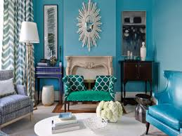 Turquoise And Green Lounge Room Ideas Turquoise And Brown Living Room Ideas Stripes Fabric Comfy