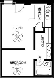 Two Bedroom Apartment Floor Plans Download Small 1 Bedroom Apartment Floor Plans Home Intercine