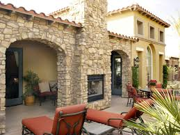 Garage Plans With Porch by How To Plan For Building An Outdoor Fireplace Hgtv